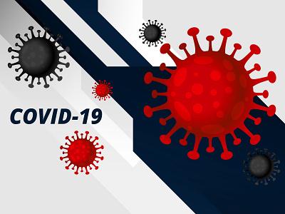 Covid 19 dribbble icon paging packaging illustraion coronavirus