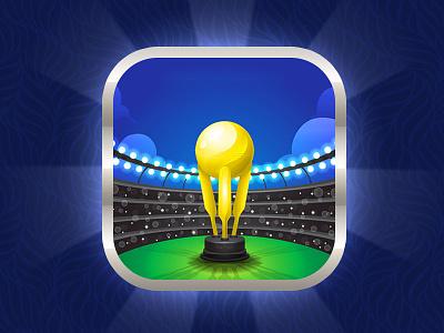 Cricket App icon ui design application logo icon vector branding app icon designers app icon design app icon