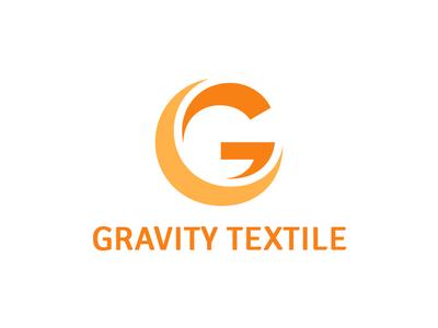 Gravity Textile branding icon vector illustration logo