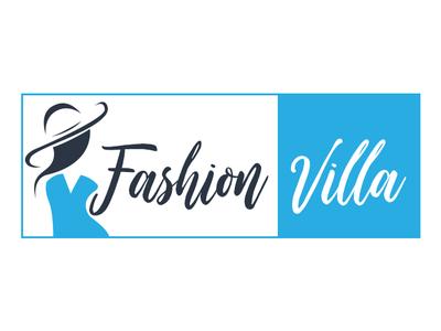 Fashion villa branding logo vector design