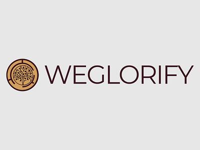 Weglorify logo design branding design illustration icon vector