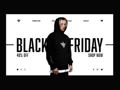 WebDesign - Black Friday
