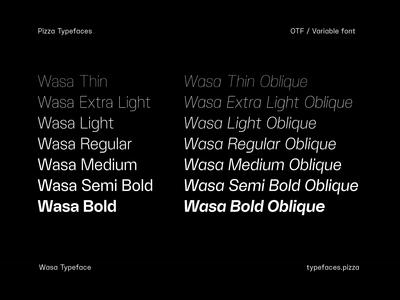 Wasa Typeface