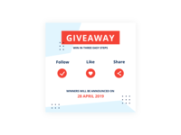 Daily UI #097 Giveaway