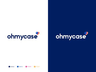OHMYCASE- logo design
