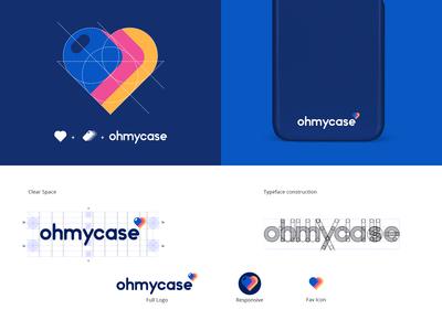 OHMYCASE- Logo Identity