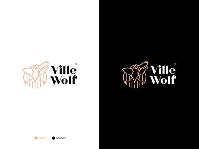 Ville Wolf- Logo