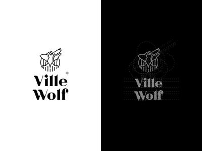 Ville Wolf- Logo Construction