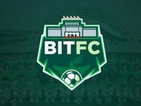 BIT Football team Logo concept