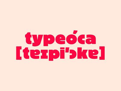 typeóca website font ultra bold black block design type