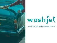 Car Wash - Logo Concept Idea - Washjet