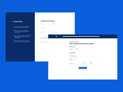 Tokenization Tool - Onboarding design web app typography visual design desktop ui desktop design desktop app ux ui tokenization