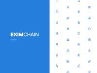 Eximchain Icons Set