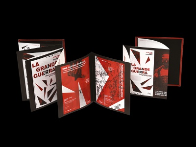 Leporello — La Grande Guerra world war grande guerra identity designer identity design identitydesign identity branding identity branding design branding brand identity brand design brand leporello