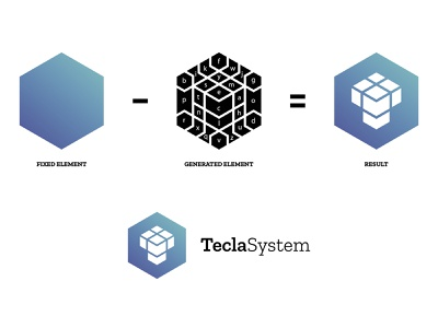 Logo — Tecla System — Composition logo design logos logo branding design identitydesign identity design identity branding identity branding brand identity brand design brand generative logo generative design generative