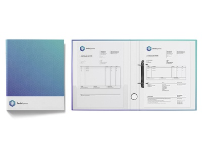 Binder / Order Sheet / Invoice — Tecla System