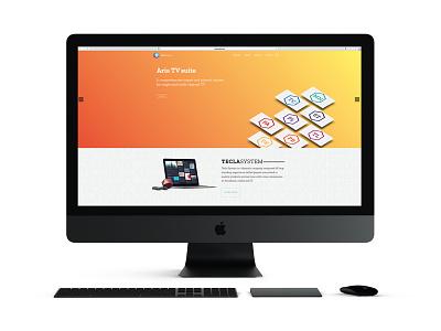 Website — Tecla System website design homepage website identity designer identitydesign identity design identity branding identity branding design branding brand identity brand design brand
