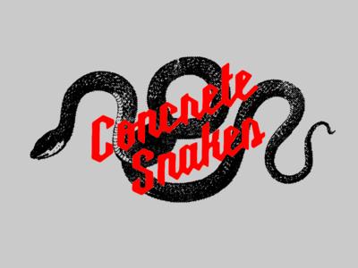 Concrete Snakes!