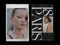 The Style Stalker / SS2019 design print minimalism model photo photographer magazine layout typography