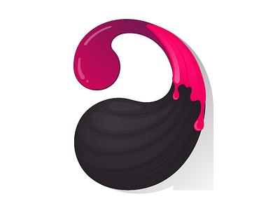 Art Icon app icon branding new color blend paint brush painting design art typography logo