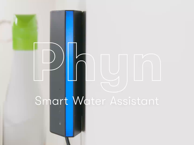 Phyn Smart Water Assistant mobile motion design language system product launch consumer electronics product social media after effects visual effects promo marketing product design ui animation