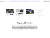 Phyn.com Prototype video photography product design language system ui ux user experience design ecommerce design web design