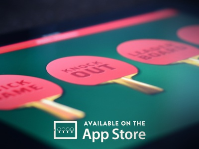 Pong Madness is LIVE! app ipad ping pong tennis table manager games score leaderboard paddle ui ux challenge photo appstore available