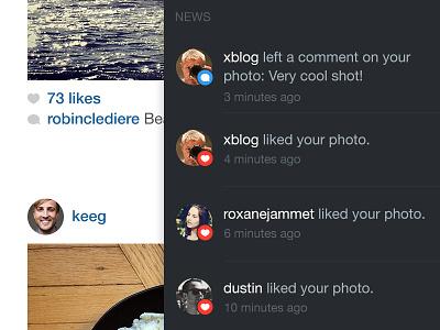 Instagram iPad App Concept ux ui photo navigation app ipad instagram