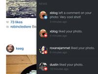 Instagram iPad App Concept