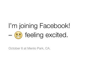 I'm joining Facebook! design facebook new job california dream