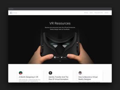 VR Resources