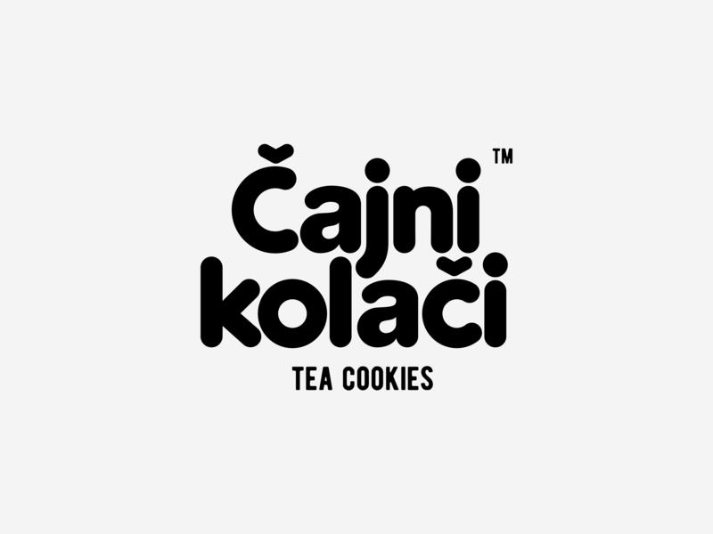 Tea Cookies wordmark cookies tea packaging package mark trademark logotype