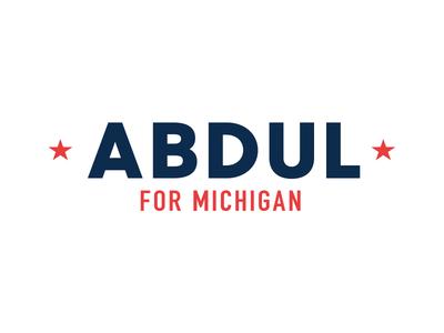 Abdul for Michigan