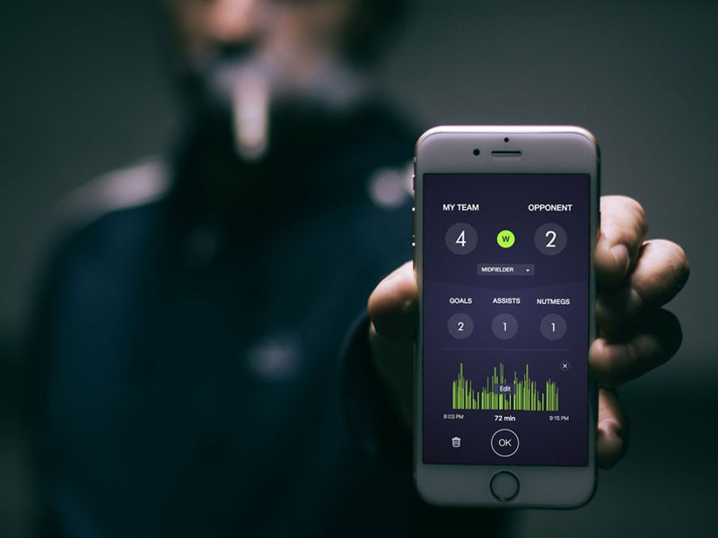 Track your Soccer Stats on Jogabo by Mehdi Djabri on Dribbble