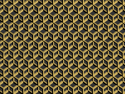 Art Deco Pattern processing p5 deco art deco 3d