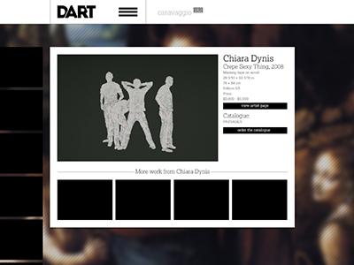 DART - artist info modalbox dart modal box modal ui grid