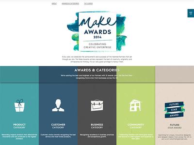 The  Make Awards 2014 – notonthehighstreet.com ecommerce ui notonthehighstreet.com the make awards awards