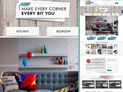 notonthehighstreet – Every Bit You marketing ecommerce landing page home campaign notonthehighstreet