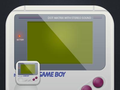 Game Boy Icons Wip game boy game icons icons ios nintendo retro gaming