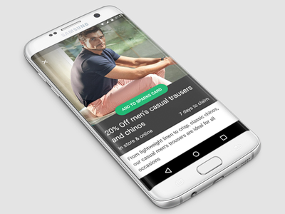 Material offer page offer android material design