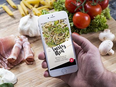 Tuesday Meal App – recipe page recipe ios app food