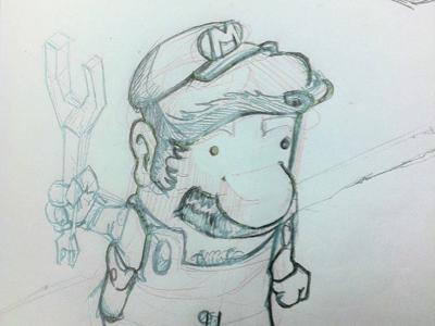 Super Mario Sketch super mario mario nintendo sketch