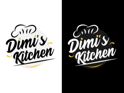Logo for Dimi's Kitchen illustration branding vector design logo