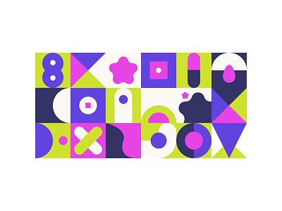 Vibrant patterns experiment experiment pattern shapes colorful vibrant