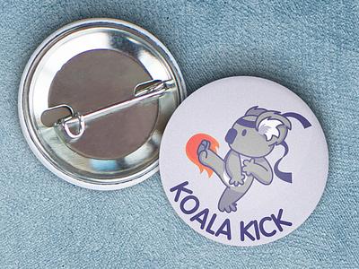 Koala Kick mockup logo design logodesign logo design vector animal adobe illustrator illustration adobe photoshop