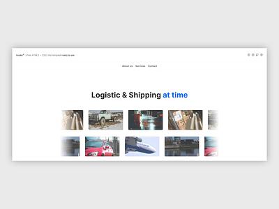 trucks© | Website, UI/UX ui ux web landing page