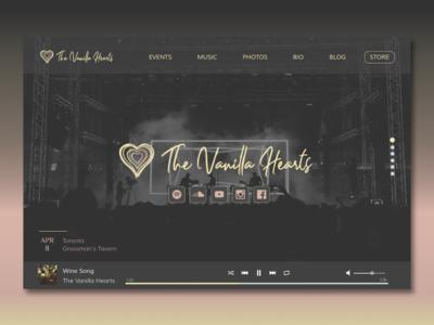The Vanilla Hearts Website