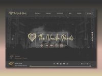 The Vanilla Hearts Website