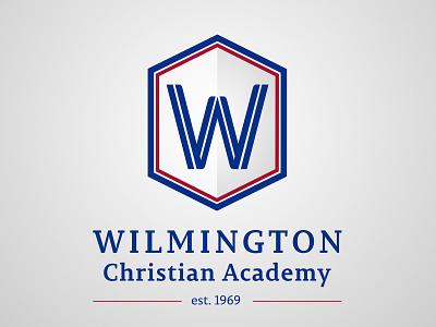 WCA Logo hexagon academy school academic w logo