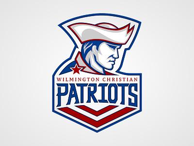 WCA Patriots Athletic Logo logos logo athletic patriot patriots